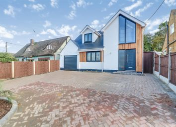 Thumbnail 4 bed detached house for sale in Hullbridge Road, Rayleigh