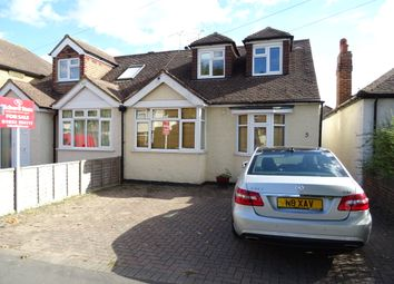 Thumbnail 4 bed semi-detached bungalow for sale in Florence Avenue, New Haw