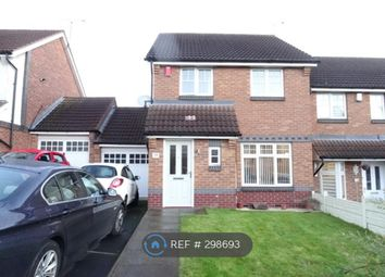 Thumbnail 3 bedroom end terrace house to rent in Tiverton Drive, West Bromwich