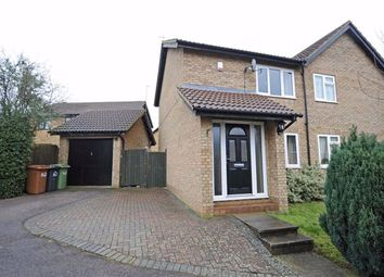 Thumbnail 2 bed semi-detached house to rent in Chatsworth Drive, Wellingborough