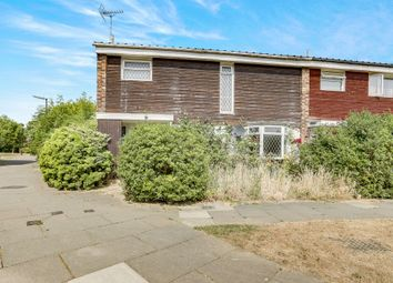 Thumbnail 3 bedroom end terrace house for sale in Padstow Walk, Crawley