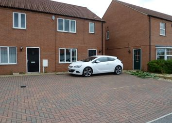 Thumbnail 3 bed terraced house to rent in Danes Close, Off Ladysmith Road, Grimsby