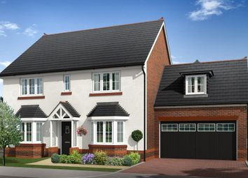 "Thumbnail 5 bed detached house for sale in ""Mellor"" at Boundary Park, Parkgate, Neston"