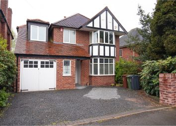 Thumbnail 4 bed detached house for sale in Boscobel Road, Walsall