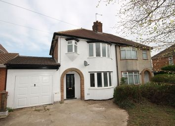 Thumbnail 3 bed semi-detached house for sale in Brackley Road, Bedford