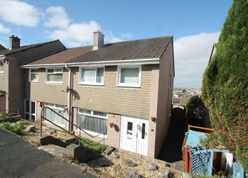 Thumbnail 3 bed end terrace house for sale in Peters Park Close, Plymouth
