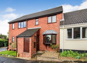 Thumbnail 3 bed terraced house for sale in Barnard Close, Stoke Holy Cross, Norwich