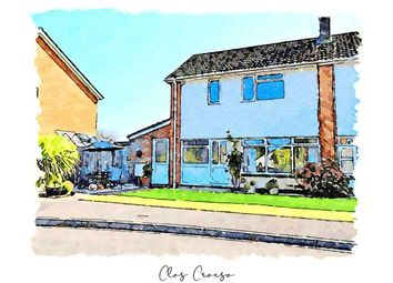 Clos Croeso, Usk, Monmouthshire NP15. 3 bed semi-detached house