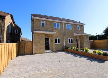 Thumbnail 4 bed semi-detached house for sale in School Lane, Egham