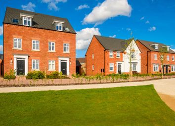 "Thumbnail 3 bed semi-detached house for sale in ""Kennett"" at Blenheim Close, Stafford"