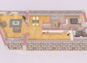 Thumbnail 1 bed flat for sale in New Road Side, Rawdon, Leeds