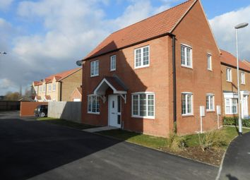 Thumbnail 3 bed detached house for sale in Pavillion Gardens, North Hykeham, Lincoln