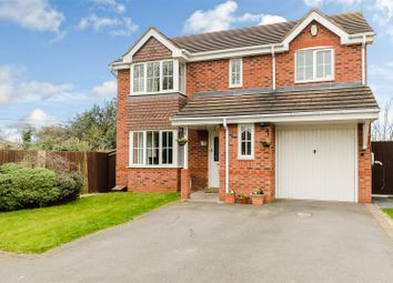 Thumbnail 4 bedroom detached house for sale in Whitehaven Grove, Chellaston, Derby