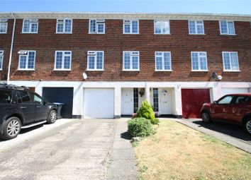 Thumbnail 3 bedroom terraced house for sale in Riversdell Close, Chertsey, Surrey