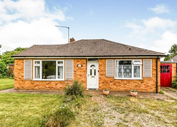 Thumbnail 2 bed detached bungalow for sale in Chapel Road, Pott Row, King's Lynn
