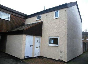 Thumbnail 3 bed end terrace house for sale in Crabtree, Peterborough, Cambridgeshire