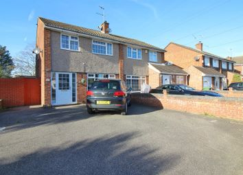 Thumbnail 3 bedroom semi-detached house for sale in Herongate Road, Cheshunt, Herts