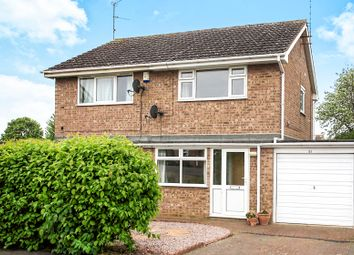Thumbnail 2 bed semi-detached house for sale in Pawlett Close, Deeping St. James, Peterborough
