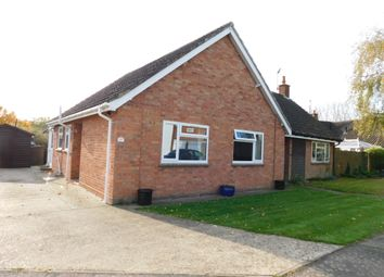 Thumbnail 2 bed semi-detached bungalow for sale in Great Finborough, Great Finborough