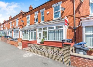 Thumbnail 3 bed terraced house for sale in Grove Road, Sparkhill, Birmingham, West Midlands