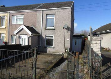 Thumbnail 2 bedroom end terrace house for sale in Mansel Road, Bonymaen, Swansea