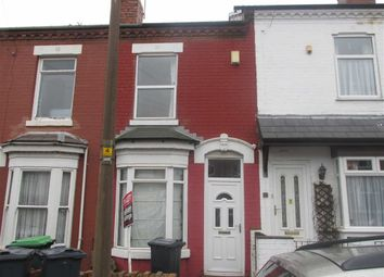 Thumbnail 2 bed property to rent in Gladys Road, Bearwood, Smethwick
