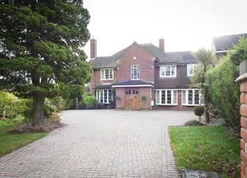 Thumbnail 4 bed detached house for sale in Hillwood Road, Four Oaks, Sutton Coldfield