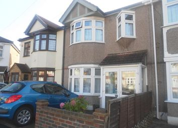 Thumbnail 3 bedroom terraced house to rent in Glendale Avenue, Chadwell Heath, Romford
