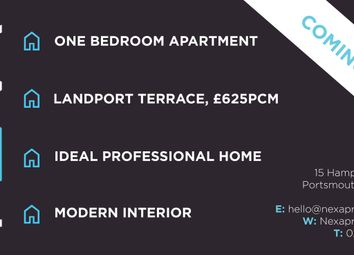 Thumbnail 1 bed flat to rent in St. Pauls Road, Southsea