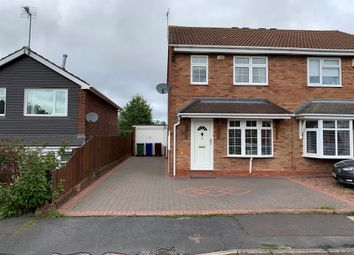 Thumbnail 3 bed semi-detached house for sale in Linden View, Hednesford, Cannock