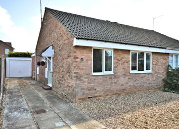 Thumbnail 2 bed semi-detached bungalow for sale in Cameron Close, Heacham, King's Lynn