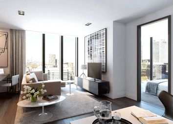 Thumbnail 2 bed flat for sale in The Madison, Marsh Wall, London
