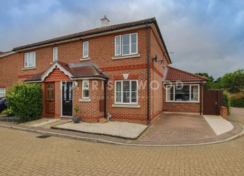 Thumbnail 4 bed semi-detached house for sale in Domitian Close, Colchester