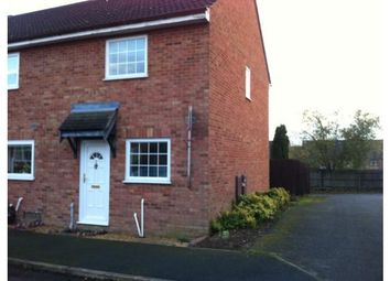 Thumbnail 3 bed end terrace house to rent in Grebe Close, Stowmarket