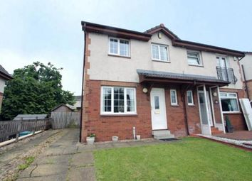 Thumbnail 3 bed semi-detached house for sale in Easdale Path, Coatbridge, North Lanarkshire