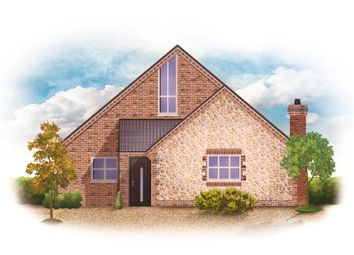 Thumbnail 5 bedroom detached house for sale in Caston Road, Griston, Thetford