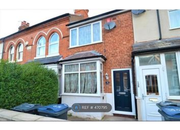 Thumbnail 3 bed terraced house to rent in Grange Road, Birmingham