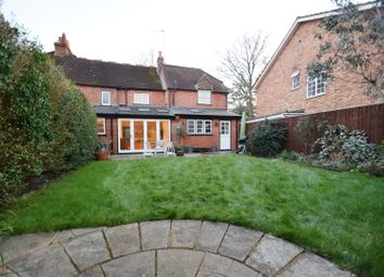Thumbnail 4 bed semi-detached house to rent in Woodcote Road, Caversham, Reading