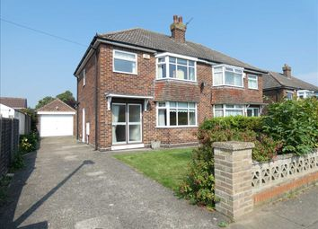 Thumbnail 3 bed semi-detached house for sale in Adelphi Drive, Scartho, Grimsby