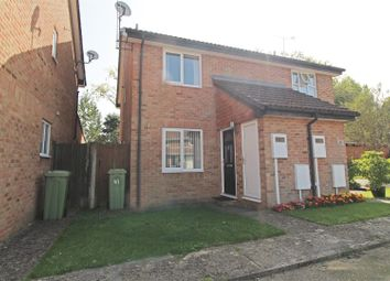 Thumbnail 2 bed semi-detached house for sale in Dulwich Close, Newport Pagnell