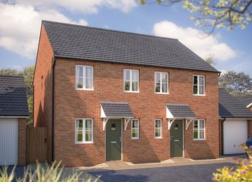"Thumbnail 2 bed semi-detached house for sale in ""The Amberley"" at Oxford Road, Bodicote, Banbury"