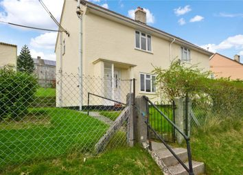 Thumbnail 2 bed semi-detached house for sale in Trethewey Gardens, Wotter, Plymouth