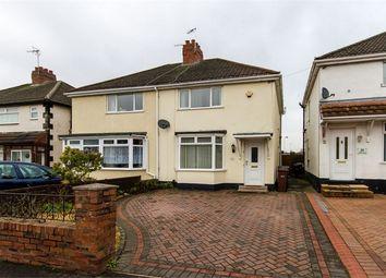 Thumbnail 2 bed semi-detached house for sale in Moreton Road, Bushbury, Wolverhampton, West Midlands