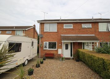 Thumbnail 3 bed semi-detached house for sale in Manorfield Close, Ormesby, Great Yarmouth
