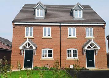 """Thumbnail 3 bed semi-detached house for sale in """"Rushwick"""" at Europa Way, Warwick"""