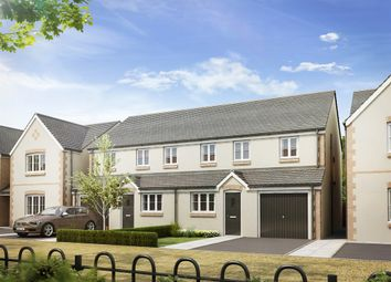 "Thumbnail 2 bed semi-detached house for sale in ""The Stafford "" at Thame Park Road, Thame"