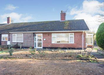 2 bed terraced bungalow for sale in Hillside Road East, Bungay NR35