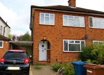 Thumbnail 3 bed semi-detached house to rent in The Ridgeway, North Harrow, Harrow