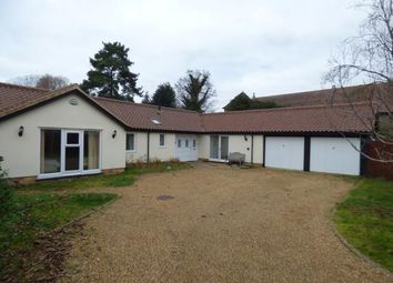 Thumbnail 4 bed bungalow for sale in Stanton, Bury St Edmunds, Suffolk