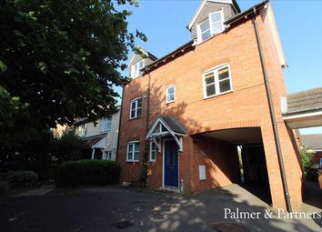 Thumbnail 3 bed town house for sale in Harrier Close, Ipswich